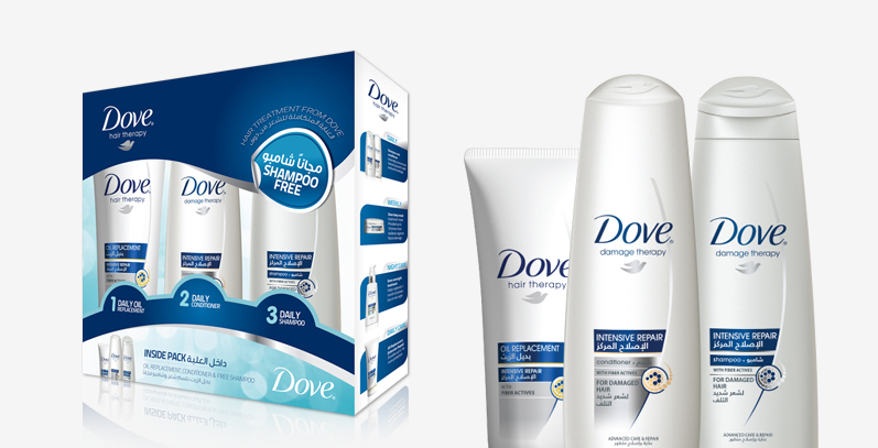 Dove Promopackaging